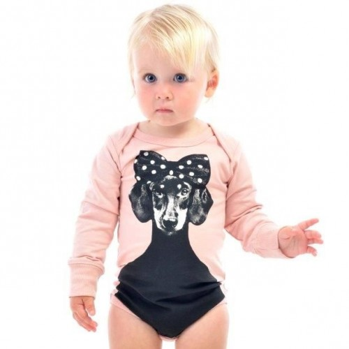 BETTY Long Sleeve Bodysuit $44 by Tree Top Toy Shop