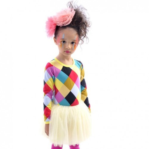 HARLEQUIN CIRCUS DRESS $54 by Tree Top Toy Shop