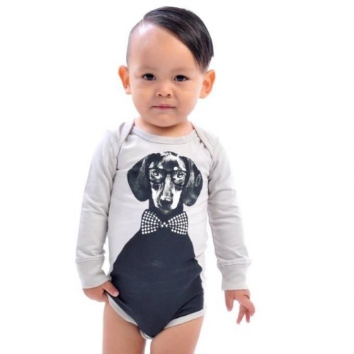 HUGO Long Sleeve Bodysuit $44 by Tree Top Toy Shop
