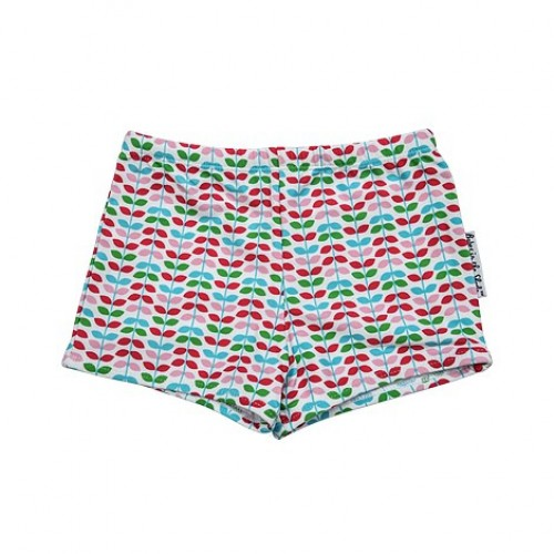 Little Leaf Briefs - Available in Pink & Green Print by Tree Top Toy Shop