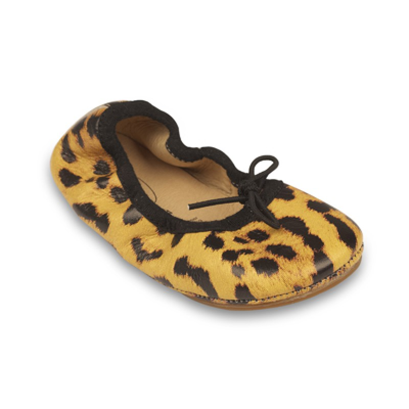 Old Soles Leopard Ballet Flat SALE PRICE $30 by Tree Top Toy Shop