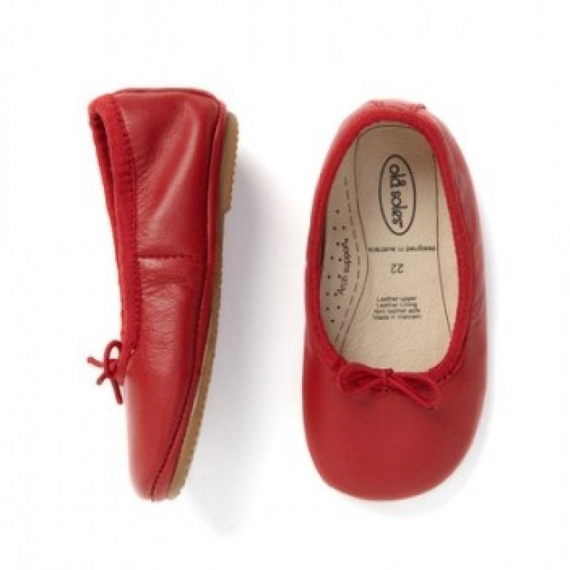 Old Soles Cruise Ballet Flat Red SALE PRICE $30 by Tree Top Toy Shop