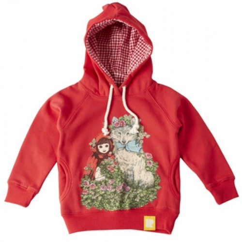 LITTLE RED RIDING HOOD Hoody $54 by Tree Top Toy Shop