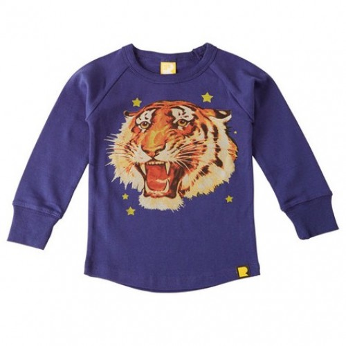 TIGER STAR Long Sleeve T-Shirt $42 by Tree Top Toy Shop