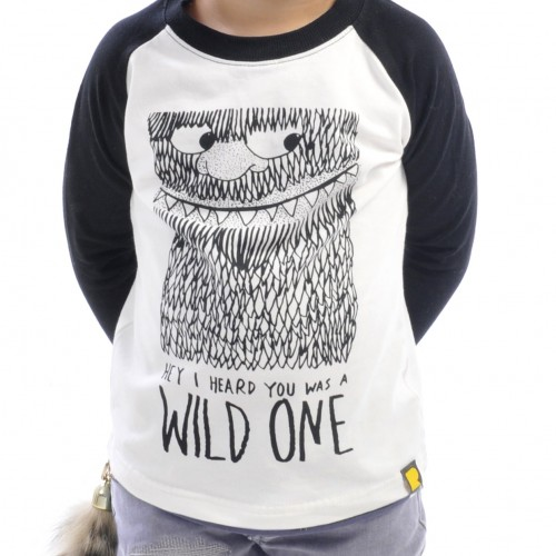 WILD ONE Long Sleeve T-Shirt $42 by Tree Top Toy Shop