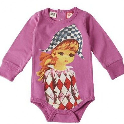 YOUNG HARLEQUIN Long Sleeve Bodysuit $44 by Tree Top Toy Shop